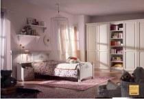 Camerette Classiche Romantiche Arredo In Legno Massello Per Ragazze